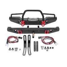 Metal Front Rear Bumper Part for 1:10 RC Crawler Car Traxxas TRX-4 SCX10II 90046