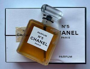 Chanel NO 5 PARFUM 14 ml 1/2 fl oz VINTAGE SEALED BOTTLE