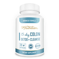 Colon Detox and Cleanse - 15 Day Quick Cleanser - Supports Weight Loss*