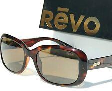 New! Revo Paxton Tortoise polished Polarized Brown Womens Sunglass 1039 02 Br