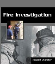 Fire Investigation by Chandler (2009, Paperback)