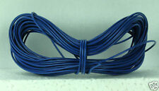 Model Railway Peco or Hornby Point Motor etc Wire 1x 5m Roll 7/0.2mm 1.4A Blue