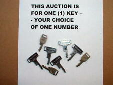 Honda ignition key pre-cut orig. CB 350  450 CL 175 450 125S T 1364 - T 9997