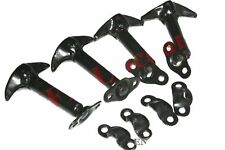 Bonnet Hood Clip Latch Kit Set of 4 for Jeep Wrangler Willys Ford Jeep CDN