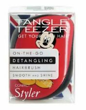 Mickey Mouse BNIP Tangle Teezer On the Go Red Dentangling Hairbrush Smooth Shine