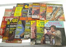 Vintage Guns Hunting Magazine Lot Of 28 Used Condition x76