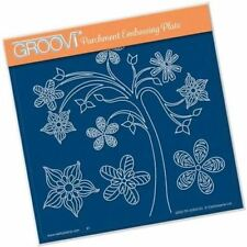 Clarity STAMPS Groovi Parchment Embossing A5 Square - Tina's Tree Fun