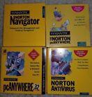 Vintage Rare Symantec Norton Antivirus pcANYWHERE Navigator 3.5 Floppy
