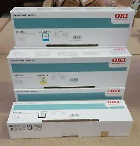 Oki ES2632a3 Toner Black x 2, Cyan x 2, Yellow x 2
