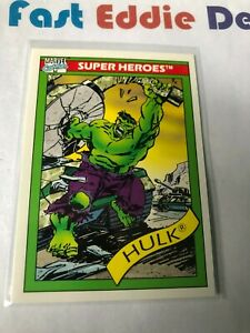 IMPEL MARKETING 1990 MARVEL COMICS SUPERHEROES THE INCREDIBLE HULK CARD # 3