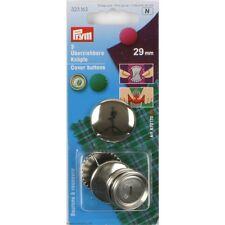 Bottoni Bottone 29mm Argento PRYM 323163 per da ricoprire Coprire ottone