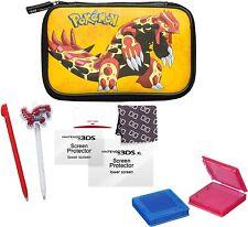 Nintendo New 3DS XL / 3DSXL / 3DS Pokemon Essential Pack gelb Tasche + Zubehör