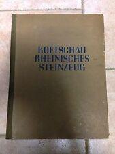 Koetschau REINISCHES STEINZEUG