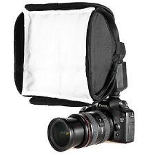 Mini Portable 9inch Softbox Diffuser for Flash/Speedlite/Speedlight 23x23cm ln
