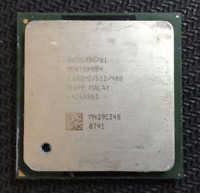 Intel Pentium 4 SL6PP 2600MHz/512KB/400MHz FSB Socket 478 CPU Processor