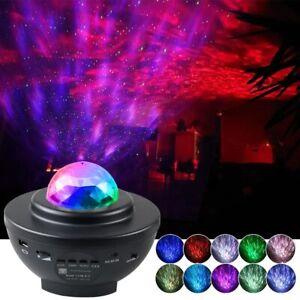 Colorful Starry Sky Galaxy Projector Nightlight Child Blueteeth USB Music Player
