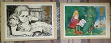 "c1994 GREETING STAMPS ""MESSAGES""  Set of 10 PHQ  Cards GS2"
