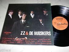 ZZ & DE MASKERS Same *MEGARARE DUTCH BEAT 60s ORIGINAL LP*ARTONE LABEL*
