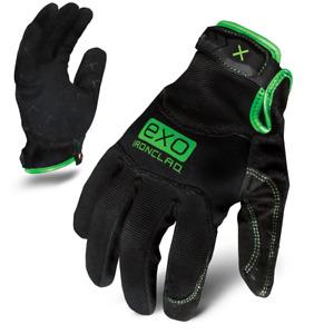 IronClad Gloves EXO2-MPG Motor Pro Garage Junkie Green & Black - Select Size