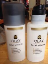 OLAY TOTAL EFFECTS BODY VISIBLE ANTI-AGING MOISTURIZING TREATMENT 1 NEW & 1 USED