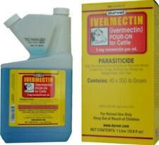 Durvet Ivermectin Pour On Parasiticide for Cattle 250mL