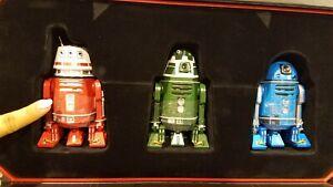D23 2019 Star Wars Astromech Droid Set Exclusive IN HAND MINT RISE OF SKYWALKER
