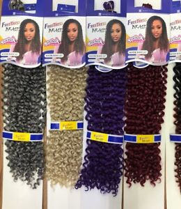 FREETRESS BRAID WATER WAVE 22'' CROCHET  LATCH HOOK. ALL COLORS AVAILABLE