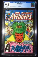 Avengers #243 CGC 9.6...Vision, Starfox & scarlet Witch...Secret Wars mention