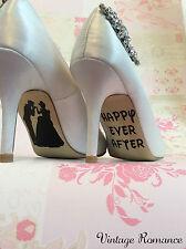 Cendrillon Disney Princess Mariée Mariage Chaussure Semelle Vinyl Decals Autocollants Cadeau