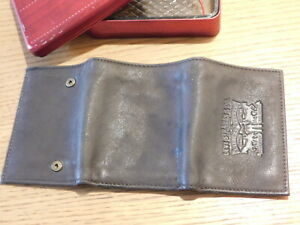 LEVI'S strauss PORTE MONNAIE en CUIR TASCHEN bag LEDER leather wallet USOUTST01