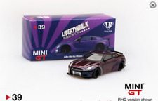 MINI GT 39 LIBERTY WALK LB WORKS NISMO NISSAN SKYLINE GT-R R35 1/64 MAGIC PURPLE