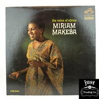 Miriam Makeba – The Voice Of Africa RARE PROMOTIONAL1964 lp LPM-2845 - EX/EX