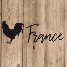 Vinilo de Corte Francia Gallo Pegatina Gallo Francia France 20 cm Adhesivo Coche