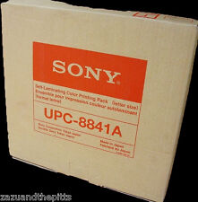 Sony UPC-8841A Self Laminating Color Print Pack ~ New in Box ~