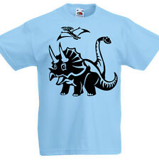 Infantil Dinosaurios Camiseta 3 -13 Años Niños Jurásico Infantil Regalo T-Rex z1