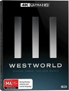 Westworld Season 3 The New World 4K Ultra HD 2020 BRAND NEW Region B