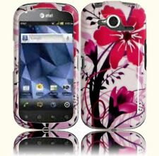 For Pantech Burst P9070 HARD Protector Case Snap on Phone Cover Pink Splash