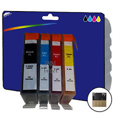 1 Set of non-OEM 364x4 Ink for HP 6510 6520 B109a B109c B109d B109f B109n B109q
