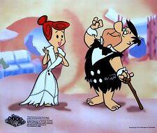 The Flintstones Fred & Wilma's Date Animation Sericel Cel Viva Rock Vegas