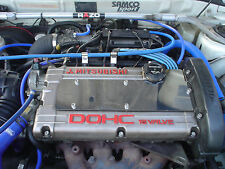 Bujía Acero Inoxidable Pulido Cubierta Para Mitsubishi Lancer Evo 1 2 3 GSR