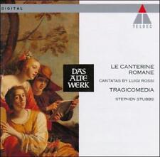 Luigi Rossi Le Canterine Romane (Roman Cantatas for 2 and 3 sopranos) CD Teldec