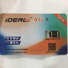 iDeal II Unlock Turbo Sim Card for iPhone X 8 7 6S 6P 5S SE 5 LTE 4G GPP IOS 12
