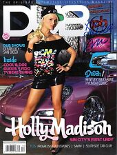 """HOLLY MADISON-""""Sexy Reality Star/ Girls Next Door""""-Auth Autographed Magazine2"""