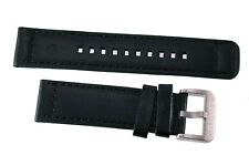Brand New 22mm Black with 28mm Buckle Levi's Watch Band Strap