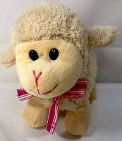 "Inter American Products TAN BABY LAMB Sheep Plush Stuffed Animal LOVEY 9"" LONG"