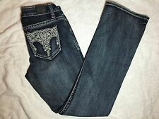 Womens LOVE NATION Boot Stretch Blue Denim Jeans - Size 4 - Excellent