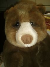 "DAKIN Artist Collection Lou Rankin Friends 12"" Jasper plush bear Applause NWT"