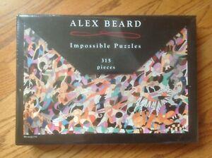 ALEX BEARD Art Studio Impossible Puzzles MENAGERIE #8793 NEW IN BOX 2008