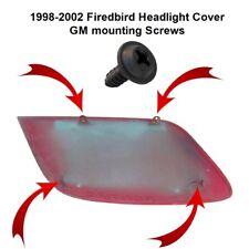 1998-2002 Firebird Trans Am Formula Headlight cover screw set. OEM GM