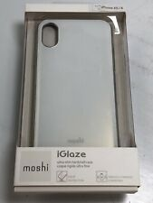 Moshi iGlaze ultra-Slim Hardshell Case (White) for iPhone X / Xs   MV752